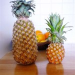 Velký ananas (Fresh bedýnky), baby ananas (Lifefood)